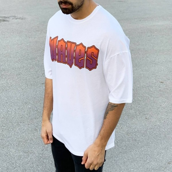 Men's Waves T-Shirt In New...