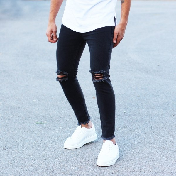 Men's Stylish Ripped Jeans...