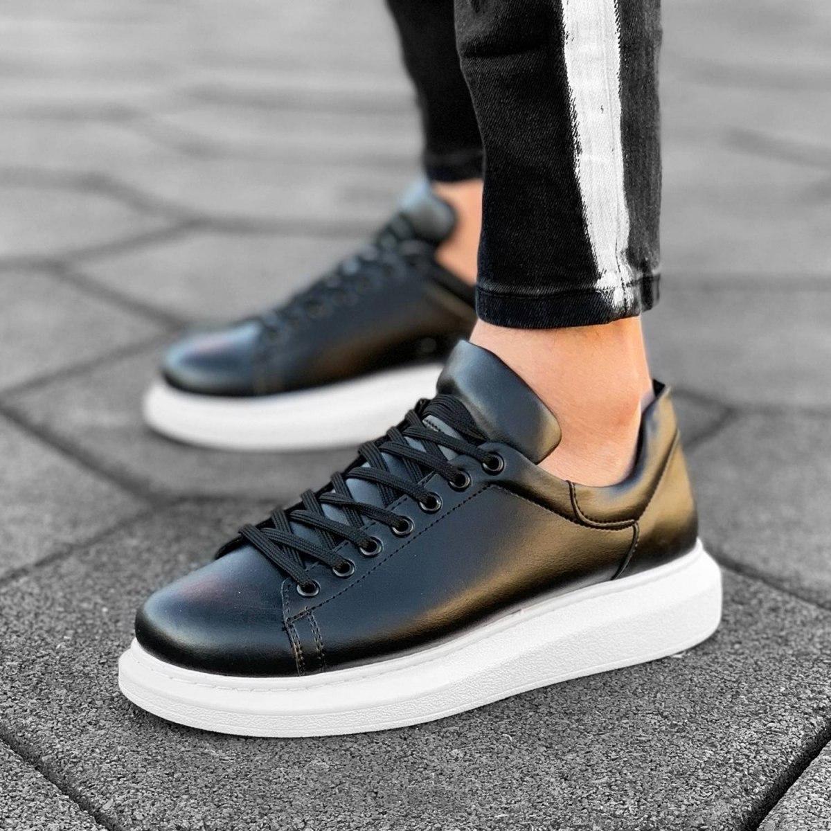 MV Mega Sole in Matte Black&White Sneaker