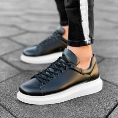 MV Mega Sole in Matte Black&White Sneaker MV Sneaker Collection - 1