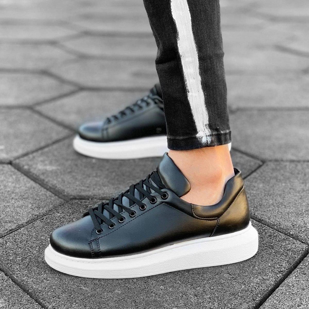 MV Mega Sole in Matte Black&White Sneaker MV Sneaker Collection - 2