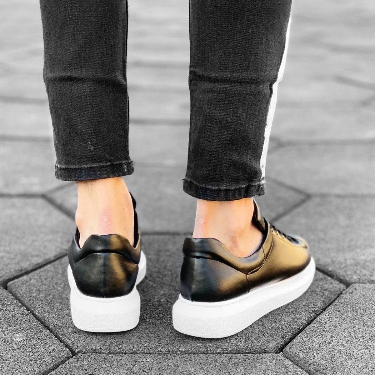 MV Mega Sole in Matte Black&White Sneaker MV Sneaker Collection - 4