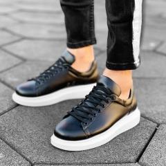 MV Mega Sole in Matte Black&White Sneaker MV Sneaker Collection - 5