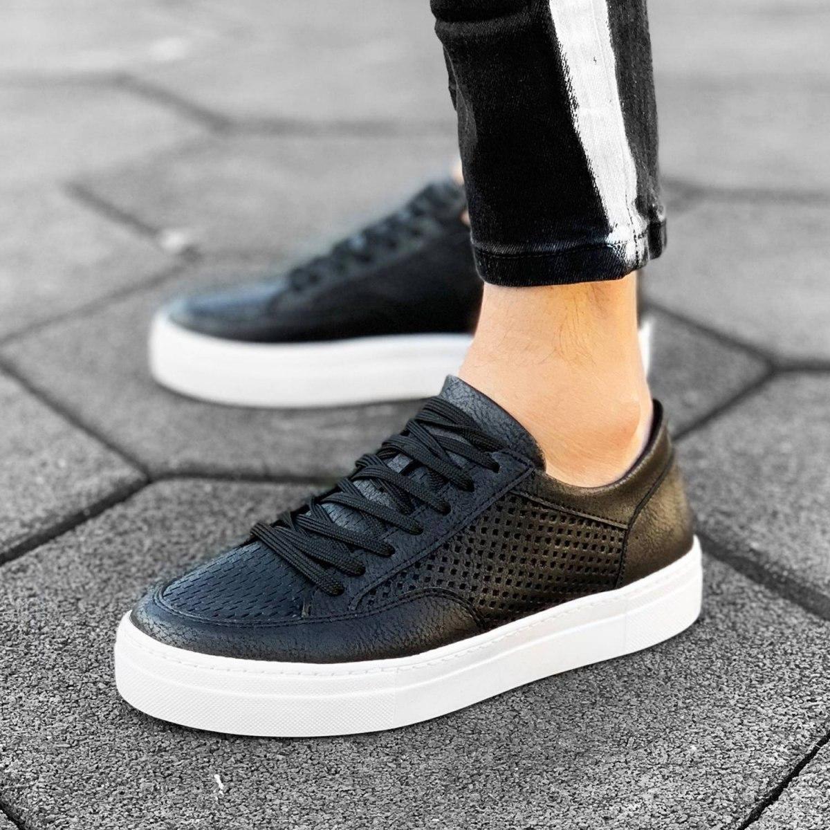 Plexus Sneakers in Black-White