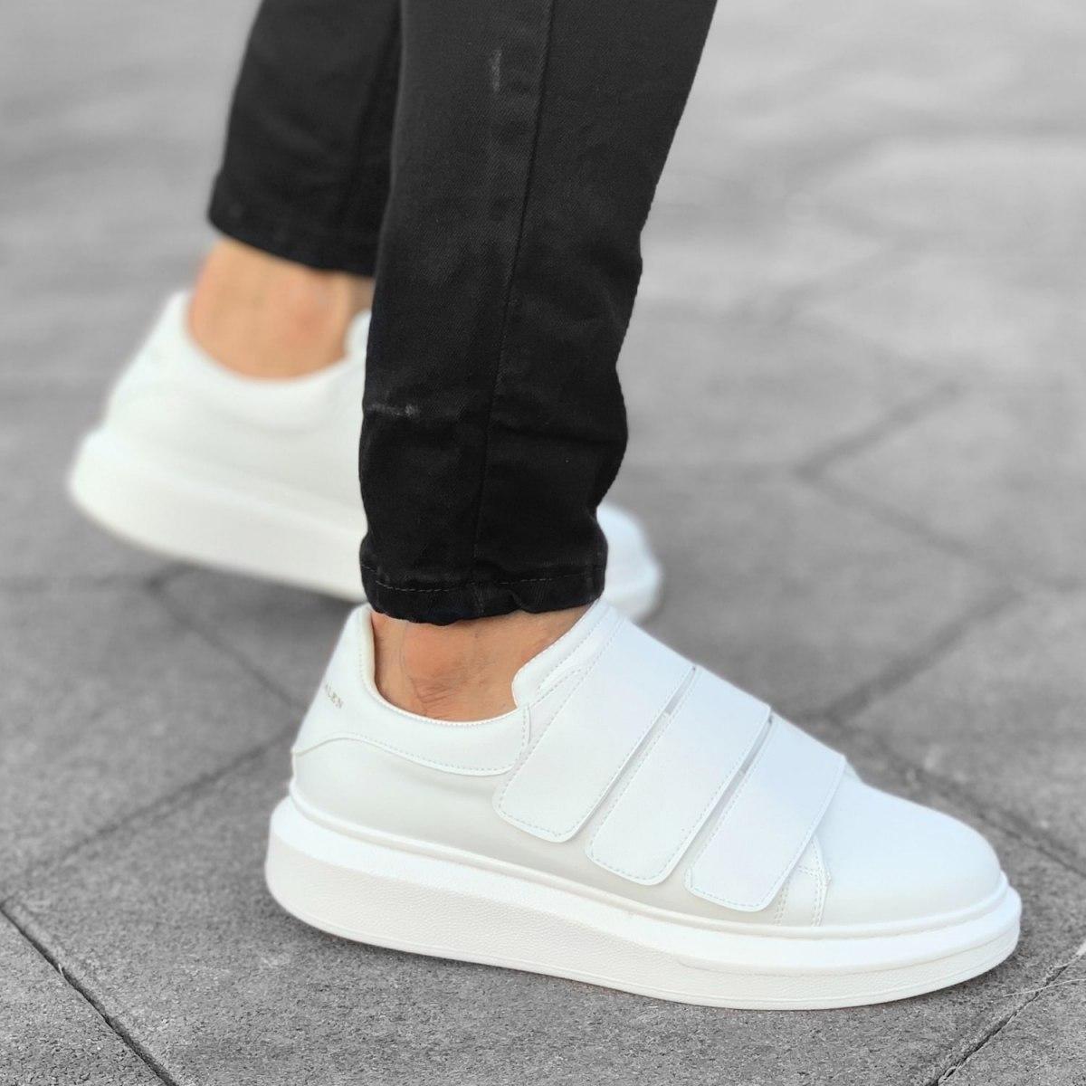 Triple Velcro Sneakers in...