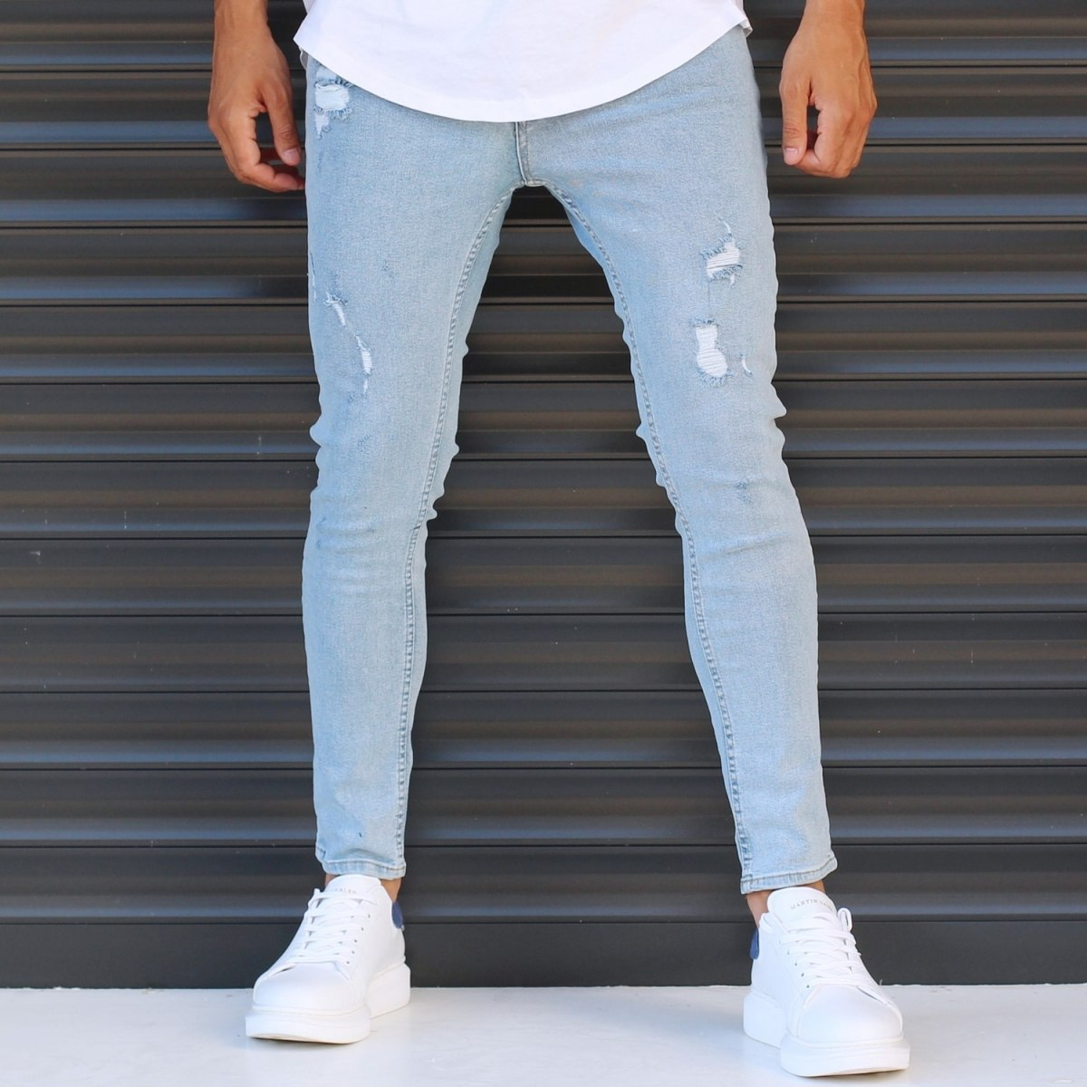 Men's Narrow Jeans With...