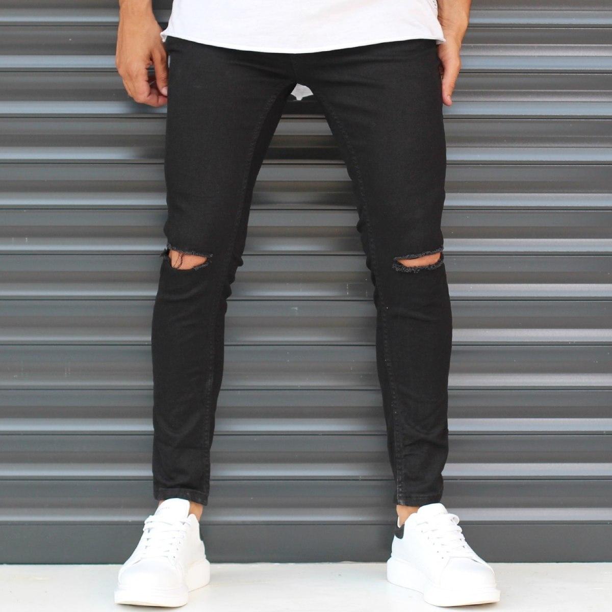 Men's Narrow Skinny Jeans...
