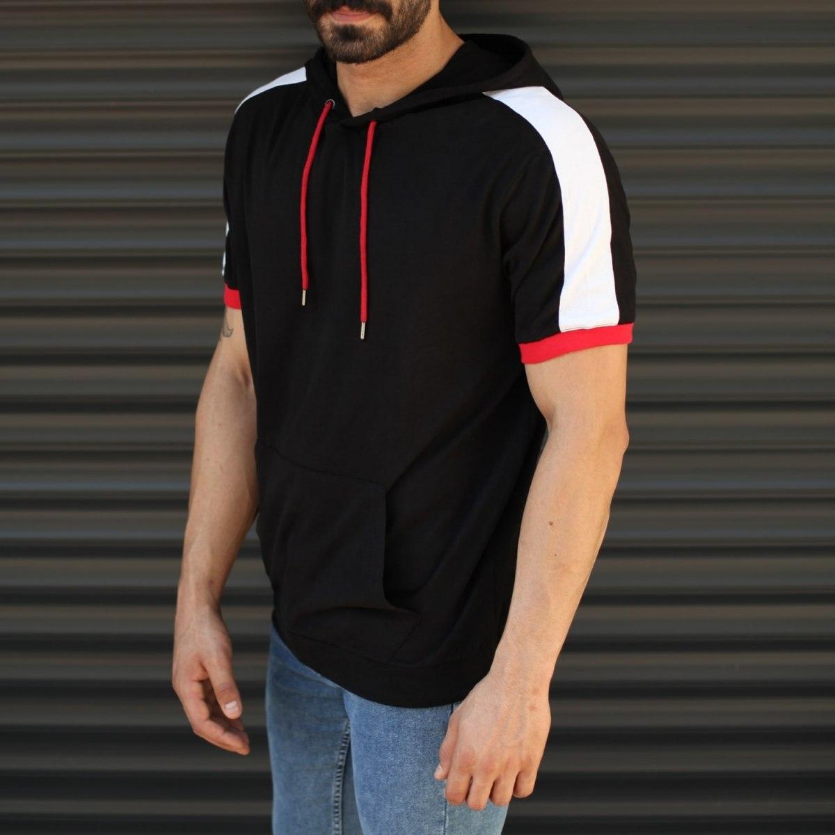 Homme T-shirt Capuche et...