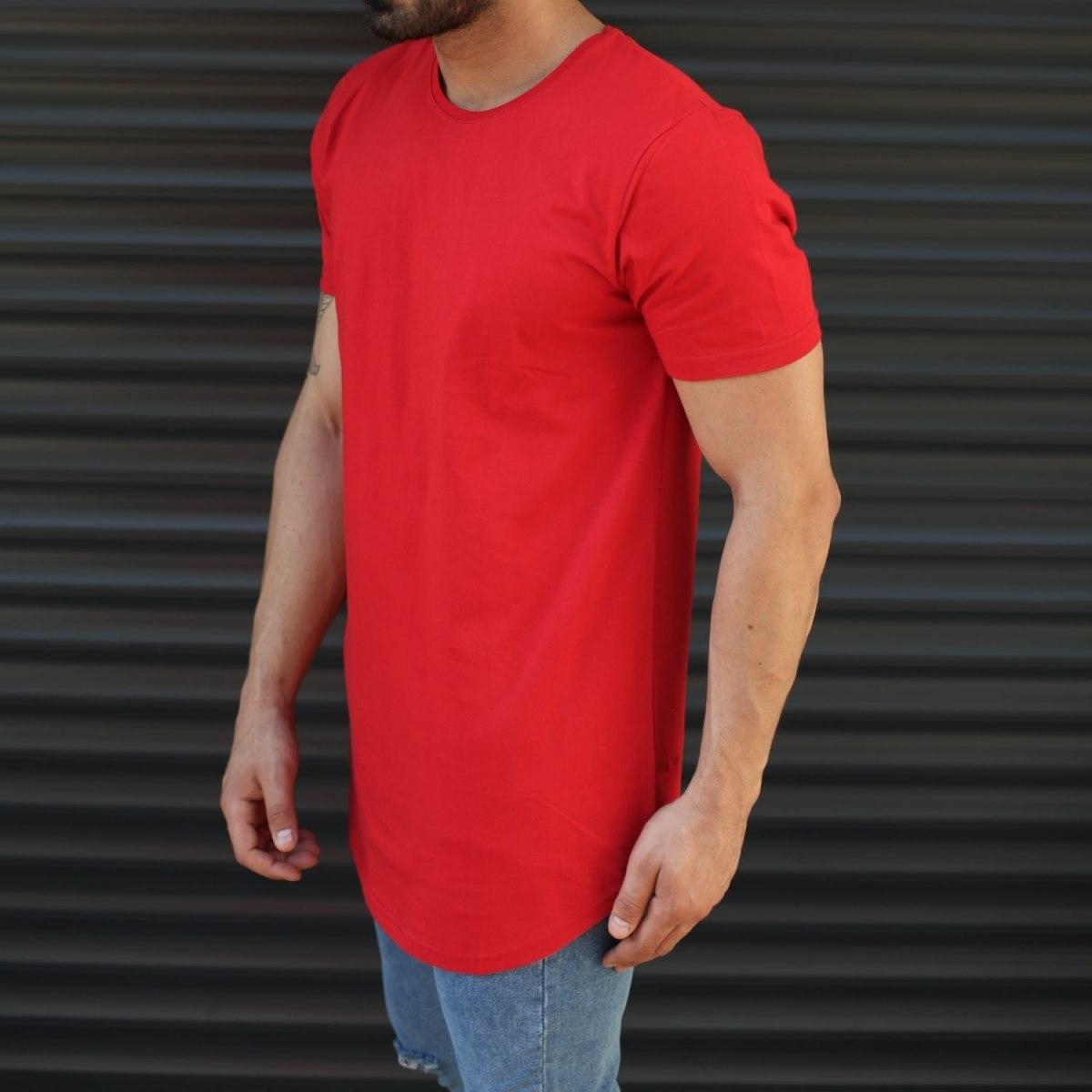 Hombre Camiseta Larga De...