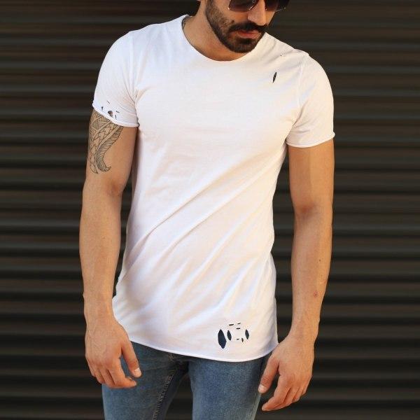 Hombre Camiseta Con Cuello...