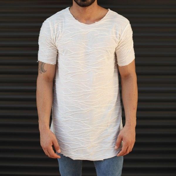 Hombre Larga Camiseta...