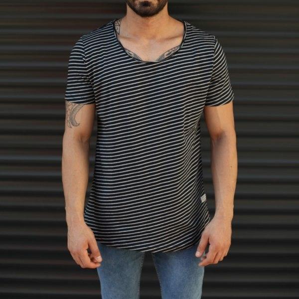 Hombre Largo Camiseta A...
