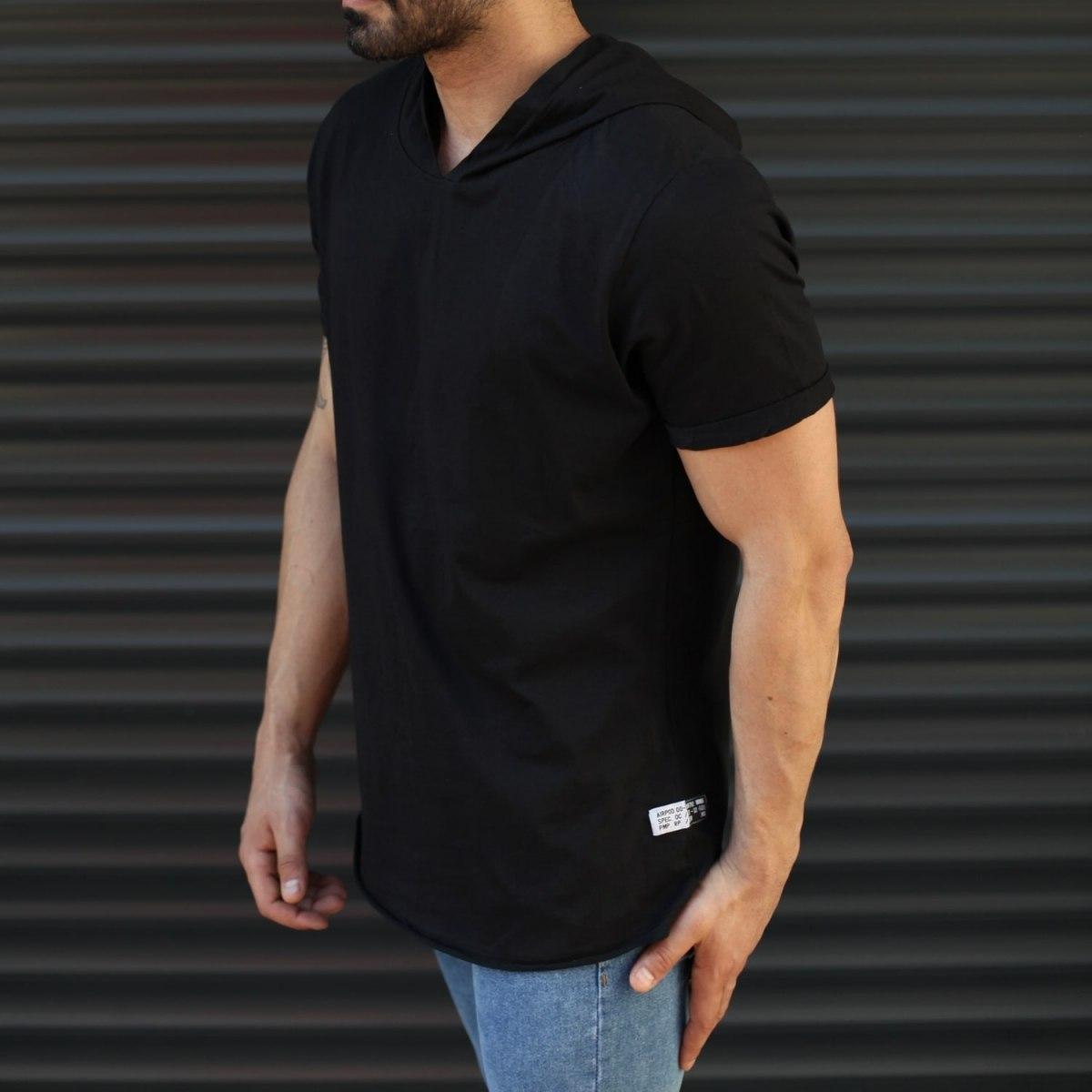 Men's Hooded Longline Basic...