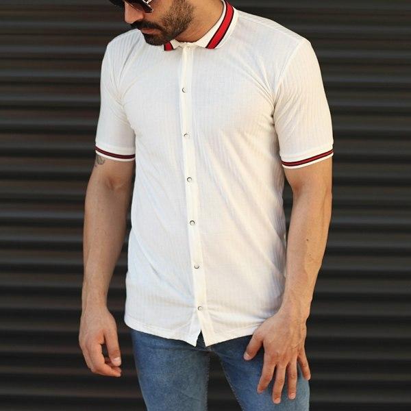 Herren Lange Polo T-Shirt...