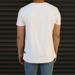 Men's New Look Slim Fit Basic T-Shirt In White Mv Premium Brand - 3