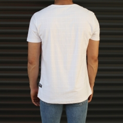 Men's New Look Slim Fit Basic T-Shirt In White Mv Premium Brand - 3