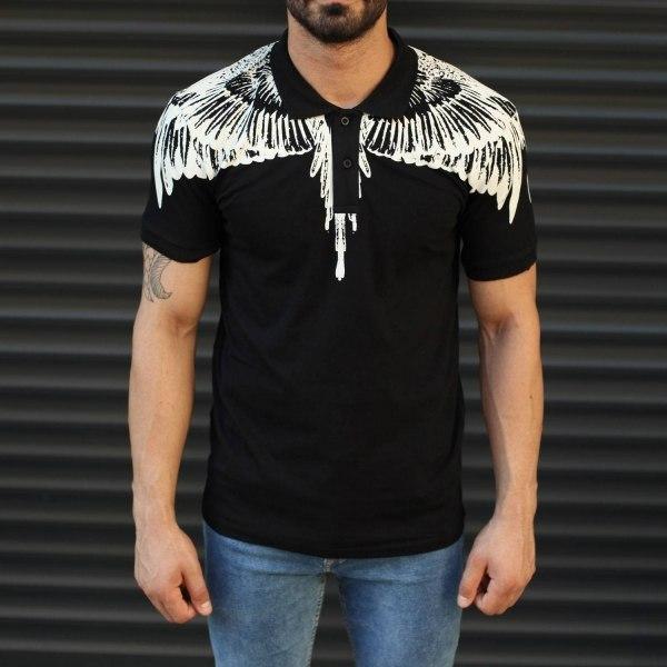 Herren Natur Polo T-Shirt...