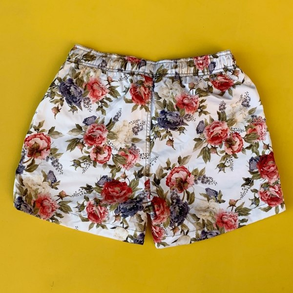 Men's Rose Patterned Short...