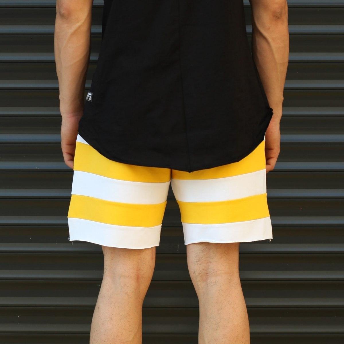 Men's Who Forgets Will Heal Fleece Sport Shorts White Mv Premium Brand - 4
