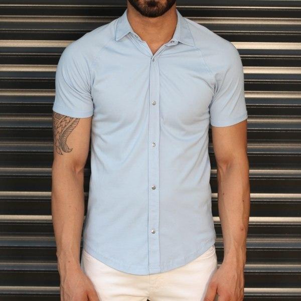 Men's Button Short Sleeve...
