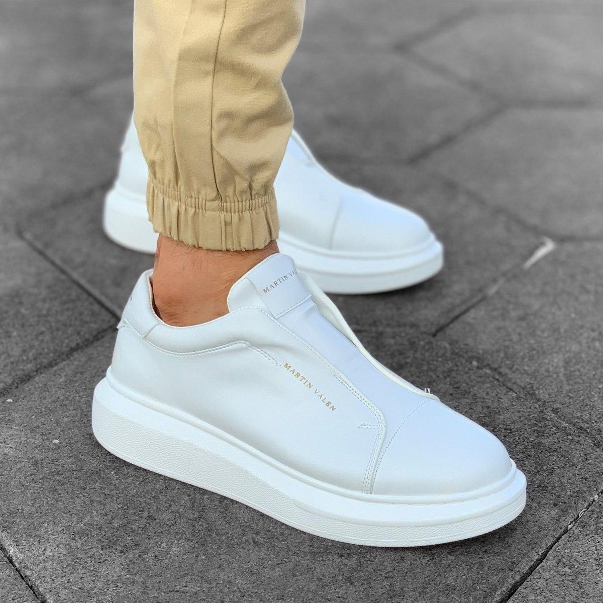 Slip-on Sneakers in White