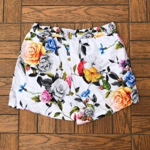 Men's Swim Shorts With Colored Flower Print MV Swimwear Collection - 2
