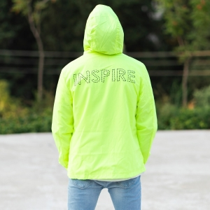 MV Autumn Collection Rainproof Hoodie in Neon-Green MV Jacket Collection - 4