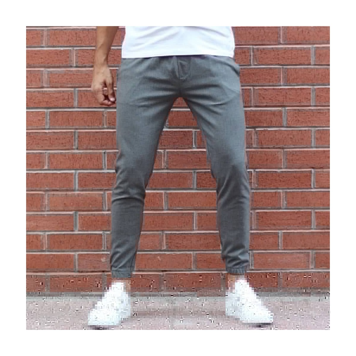 Men's Tread Trousers In Gray