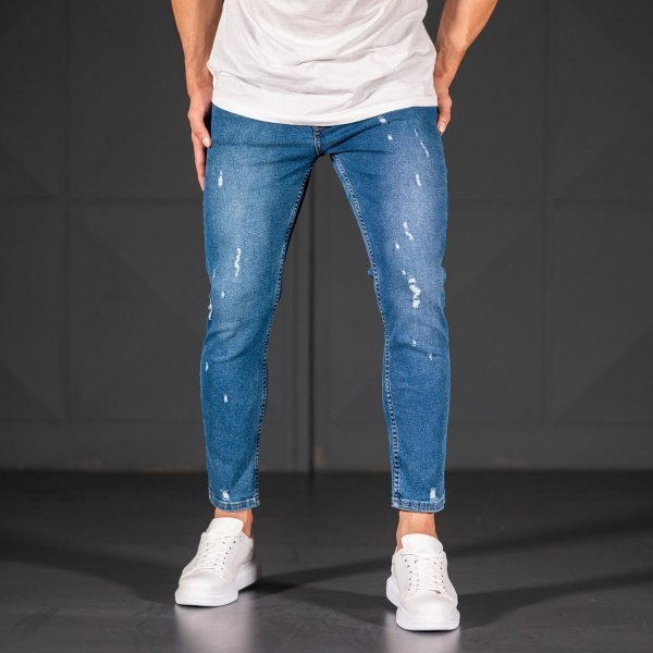 Men's Jeans with Scratchs...