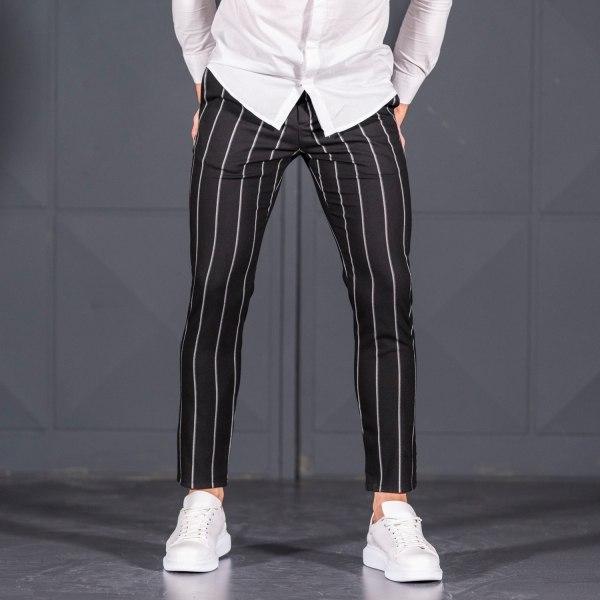 Men's Trousers In Black...