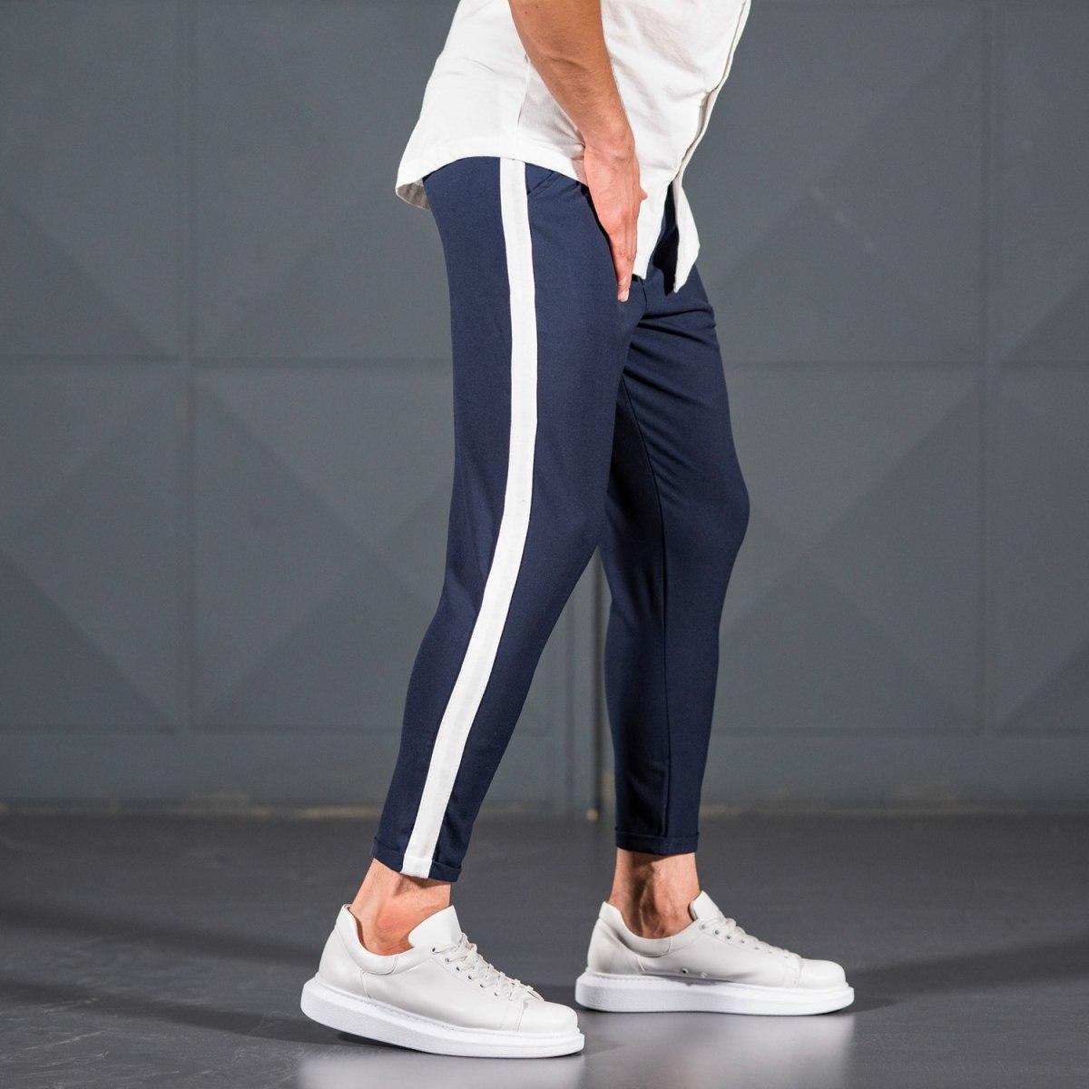 Men's Navy Blue Trousers...