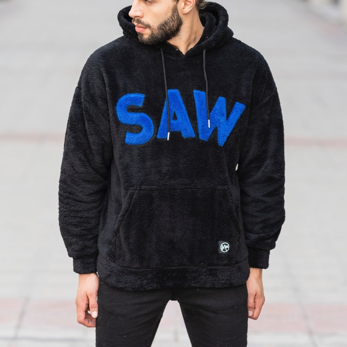 Saw Hooded Winter Hoodie in...