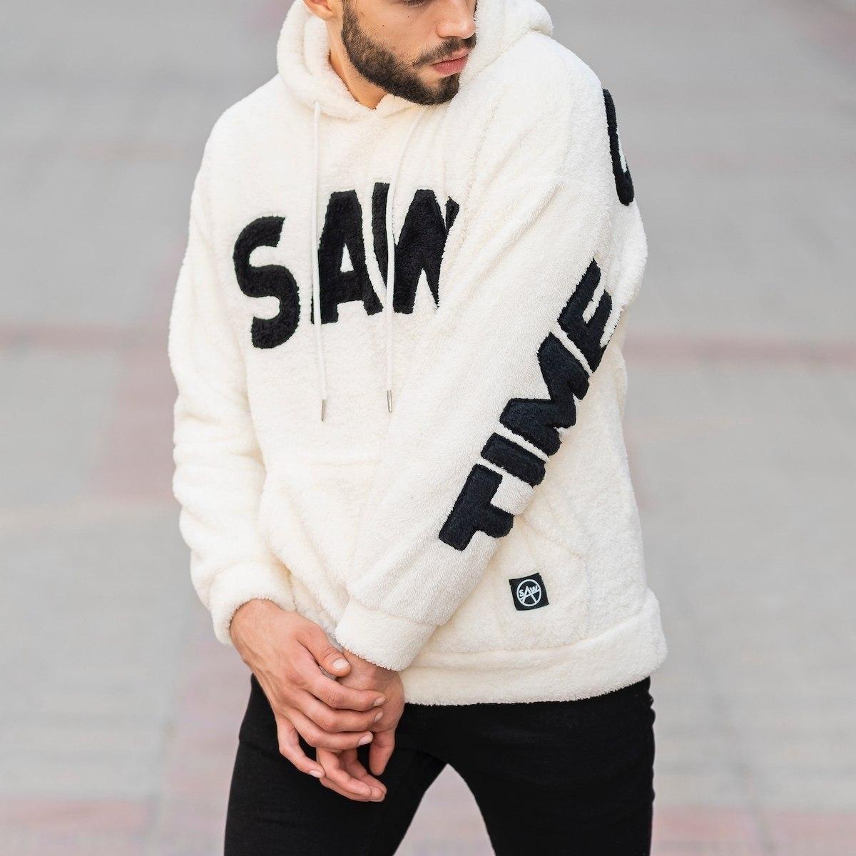 Men's Saw Hooded Sweatshirt...