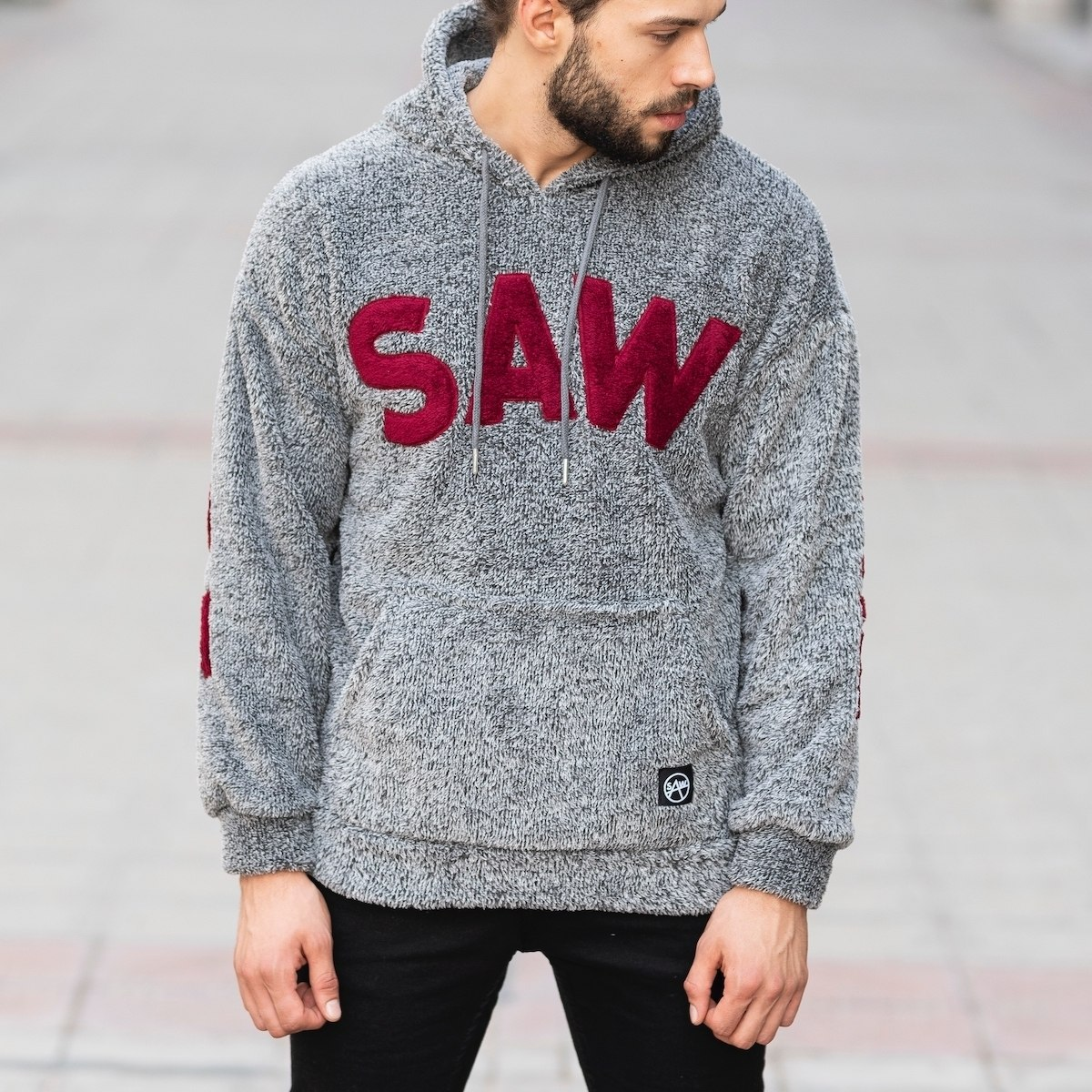 Men's Saw Hooded Sweatshirt...