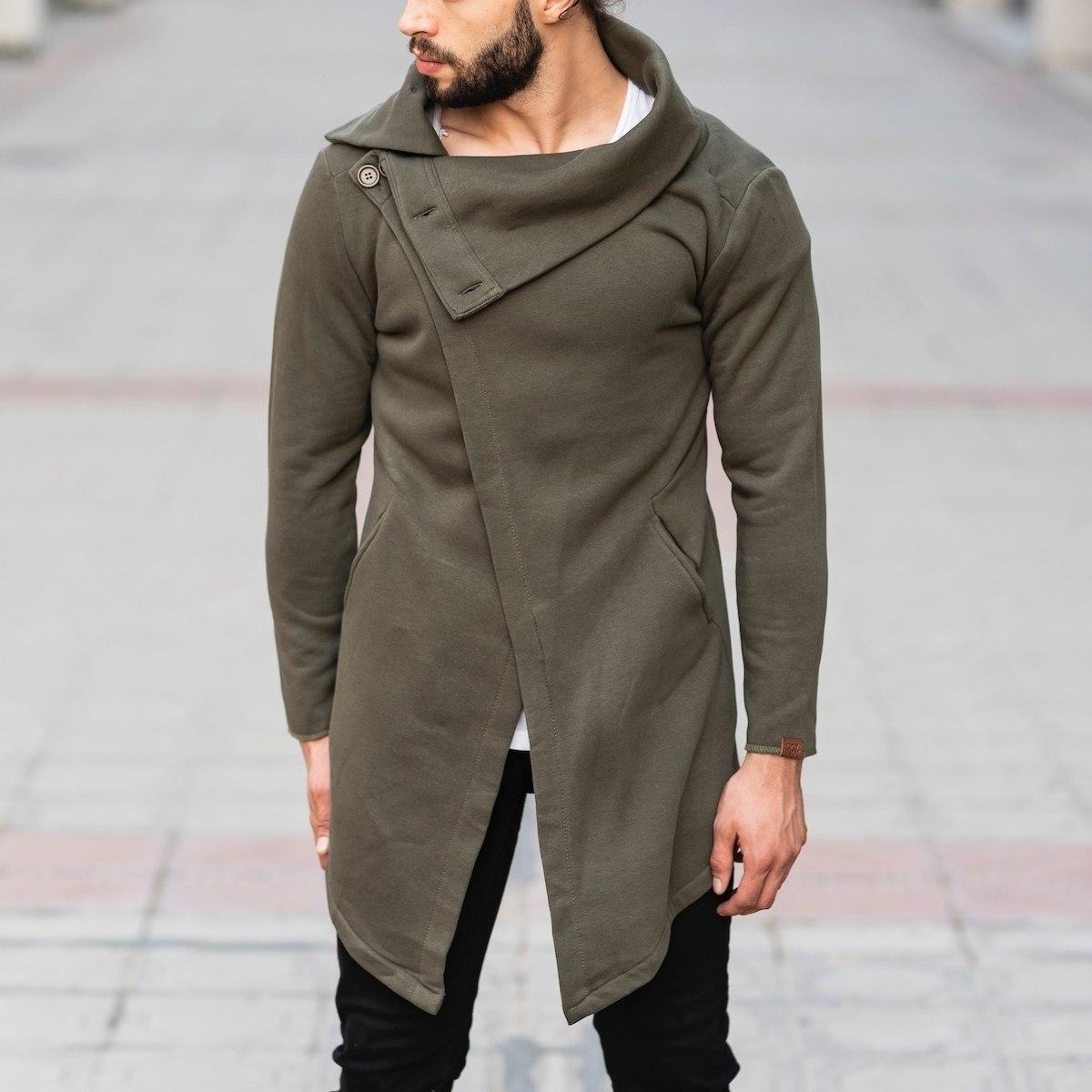 Cape Style Khaki Pancho MV Jacket Collection - 1