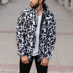 Men's Dalmatian Jacket In Black MV Jacket Collection - 1
