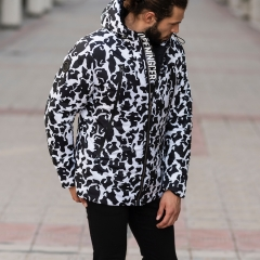 Men's Dalmatian Jacket In Black MV Jacket Collection - 3