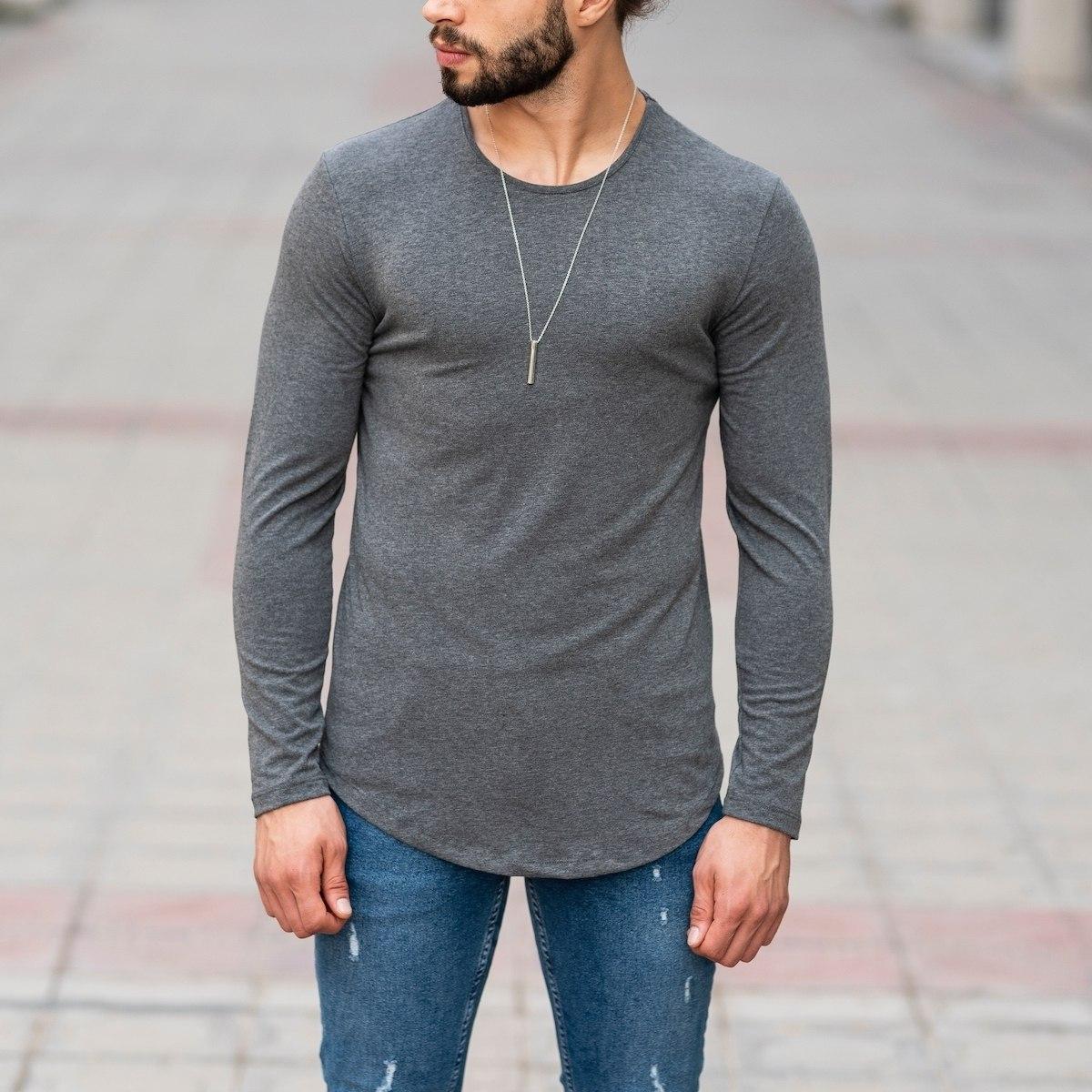 Basic Sweatshirt In Gray