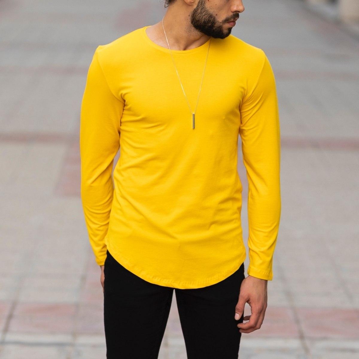Basic Sweatshirt In Yellow