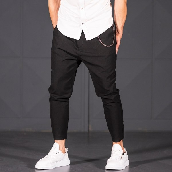 Shalvar-Cut Trousers In Black
