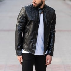 Biker Jacket In Black MV Jacket Collection - 2