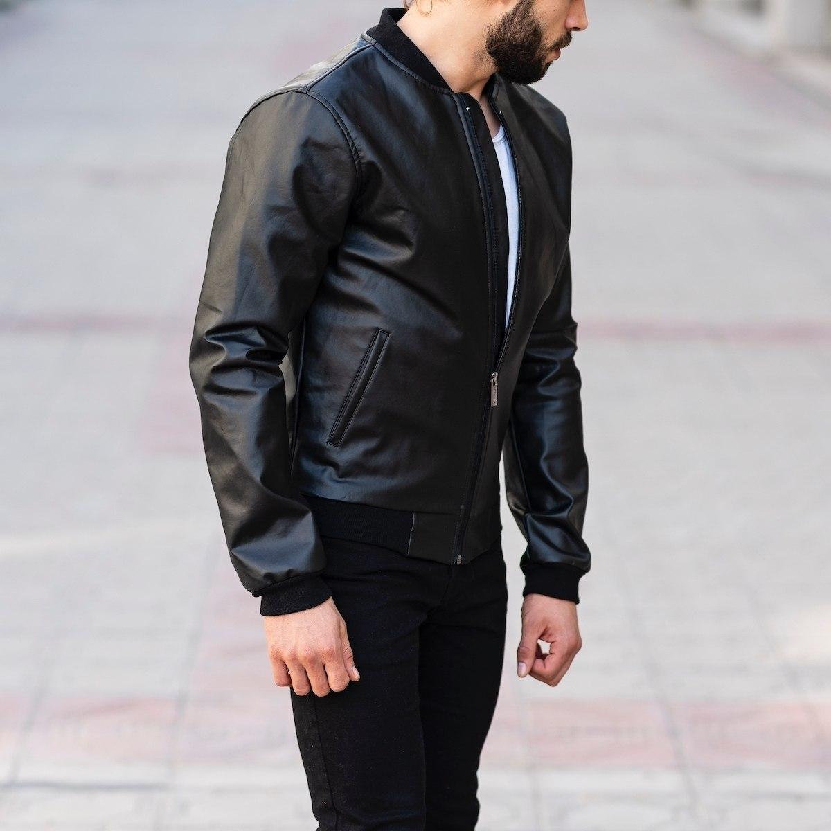 Full Black Bomber Jacket