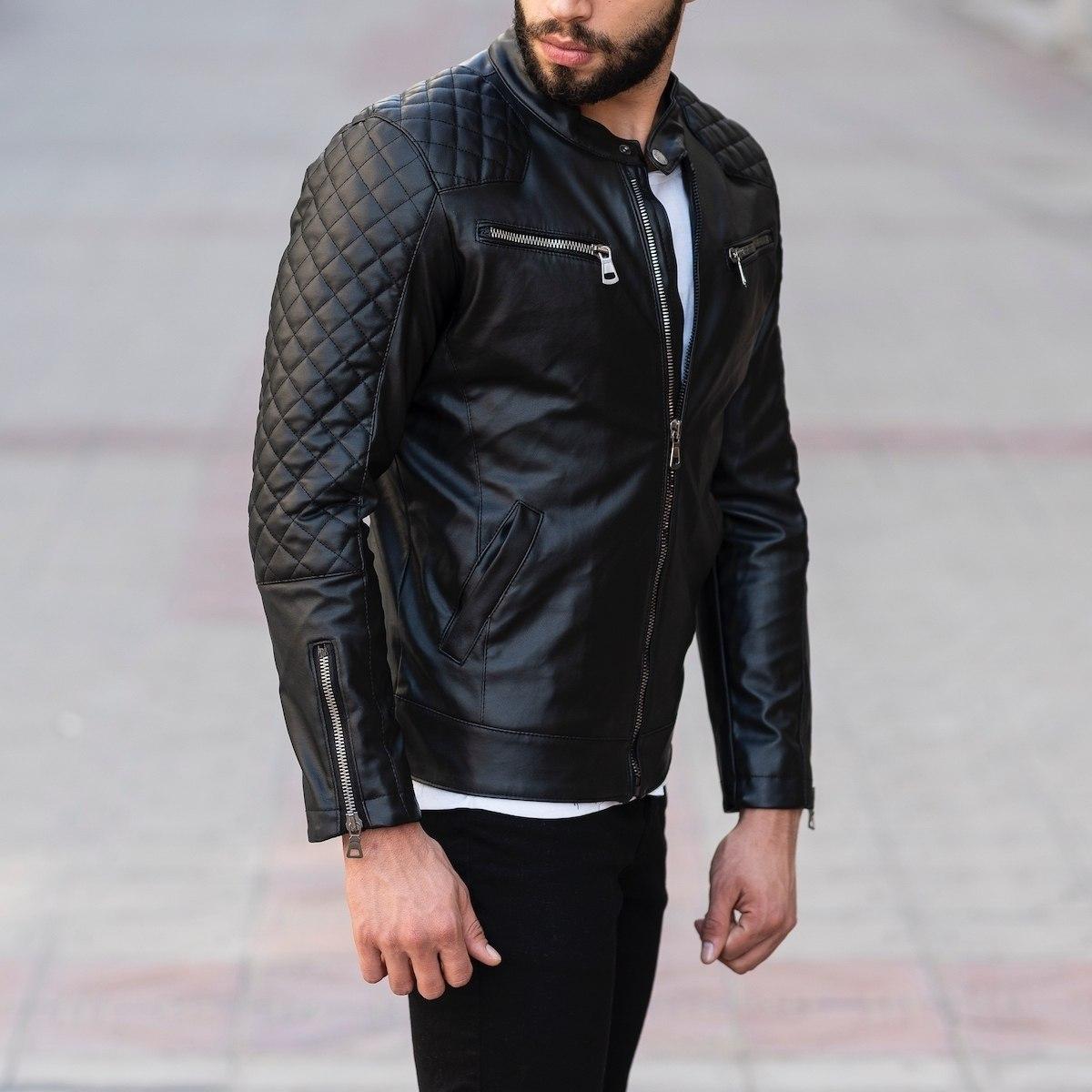 Armor Quilted Biker Jacket