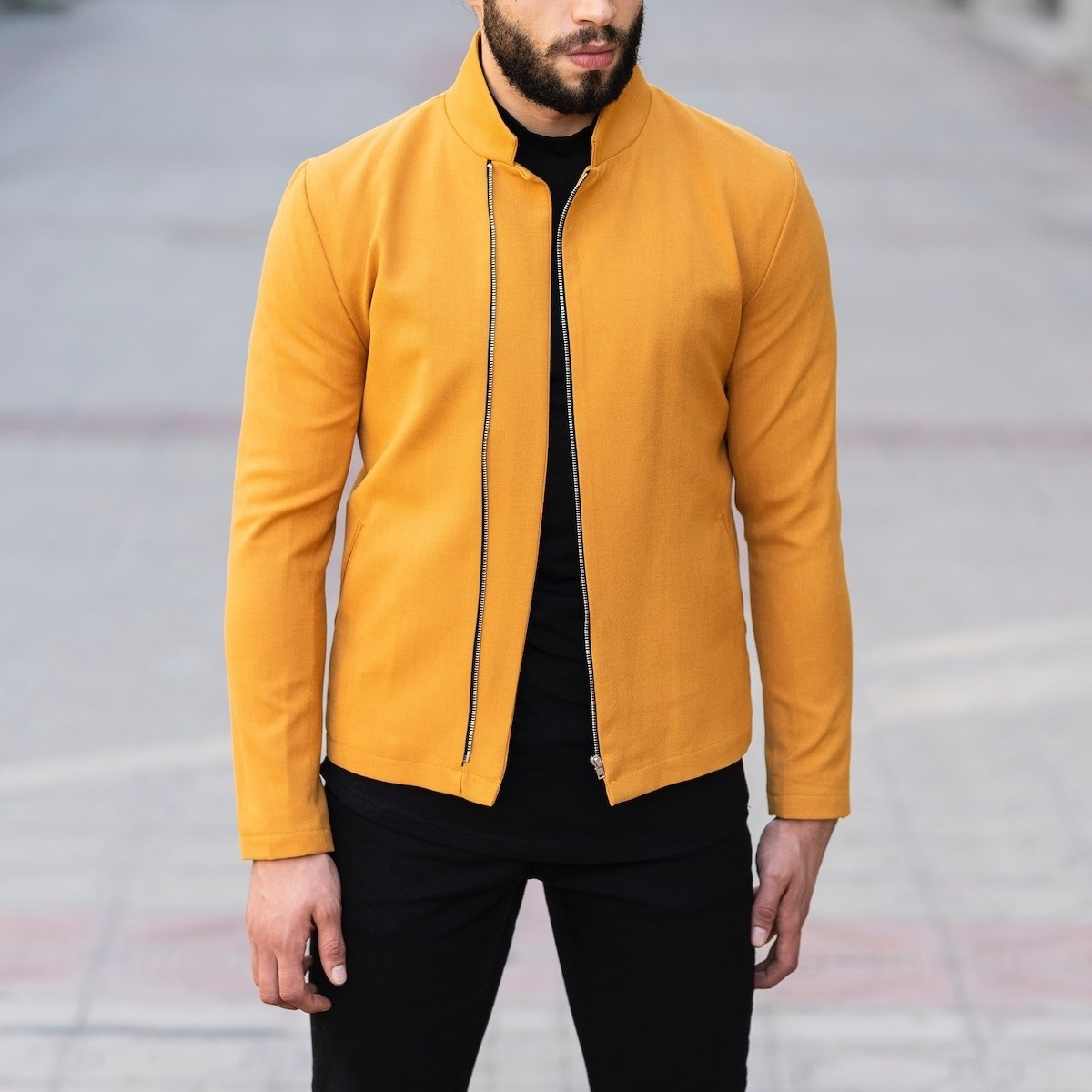 Yellow Autumn Collection Jacket MV Jacket Collection - 1