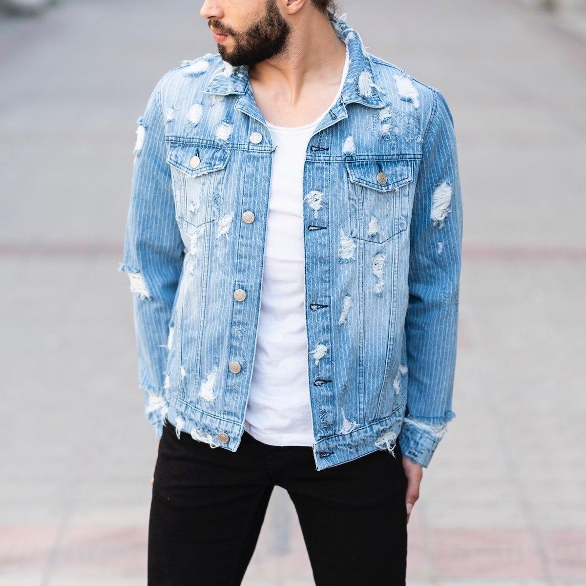 Snow Style Denim Jacket MV Jacket Collection - 1