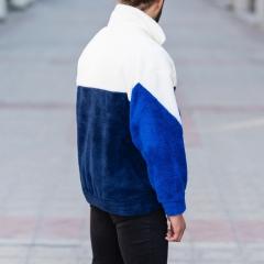Well-Soft SweatShirt in Black-White&Blue Mv Premium Brand - 6