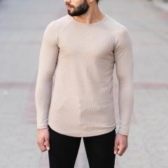 Dotwork Sweatshirt In Beige Mv Premium Brand - 1