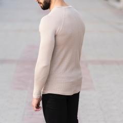 Dotwork Sweatshirt In Beige Mv Premium Brand - 3