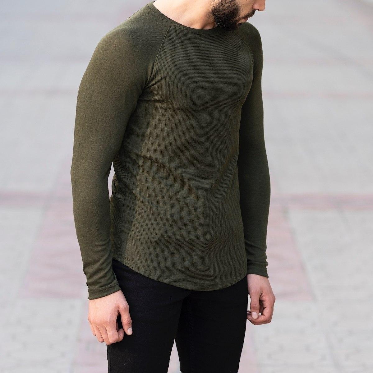 Dotwork Sweatshirt In Khahki