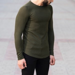 Dotwork Sweatshirt In Khahki Mv Premium Brand - 2